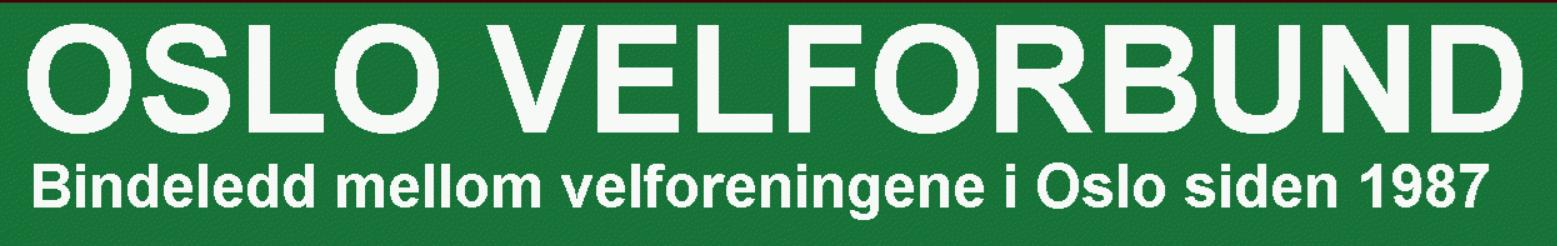Oslo Velforbund